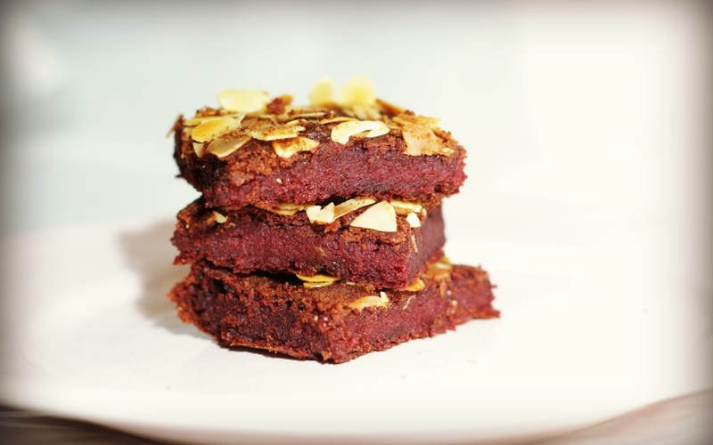 Healthy beetroot cake