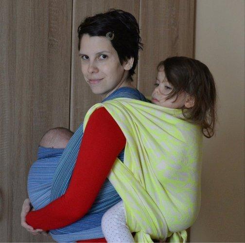 Janka Felcanová with kids