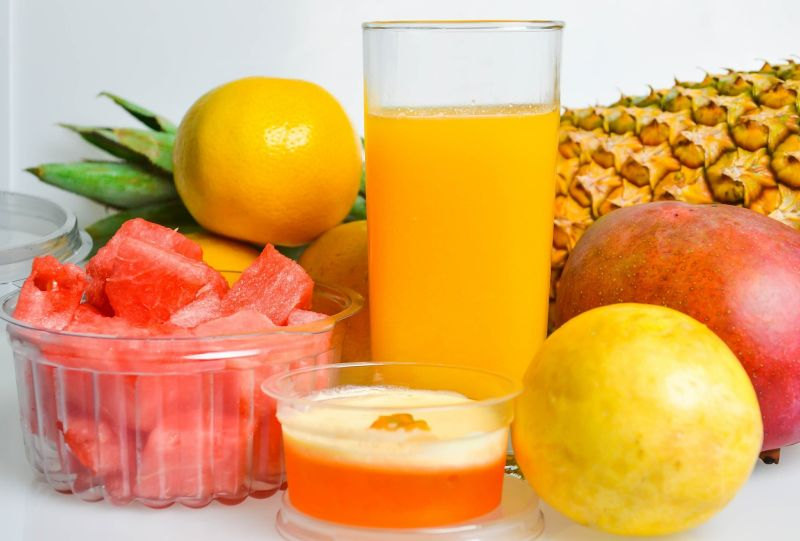 Fruit and frit juice