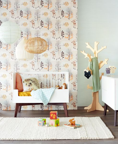 Children's room wallpaper