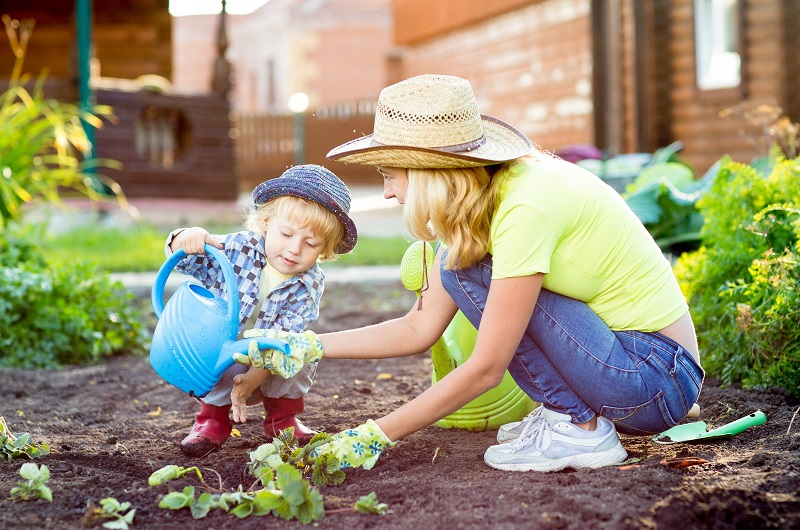 Fine motor skills, gardening