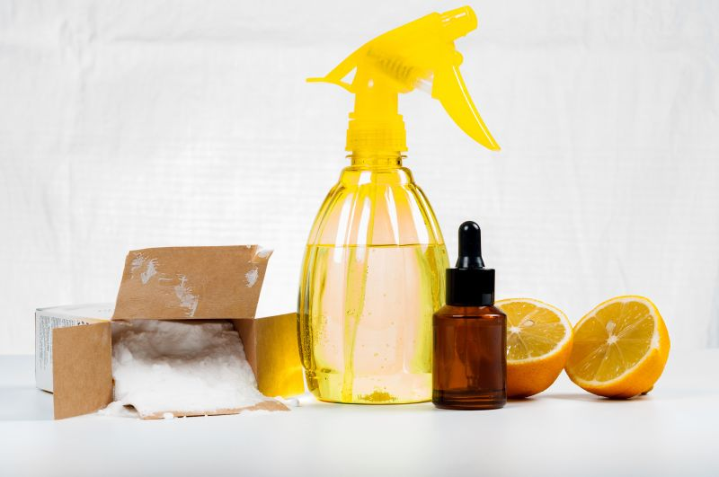 Cleaning your house with lemon and vinegar
